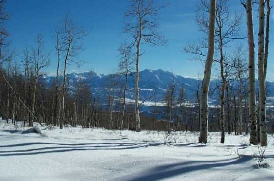 View of Mt. Sopris from Chenoa