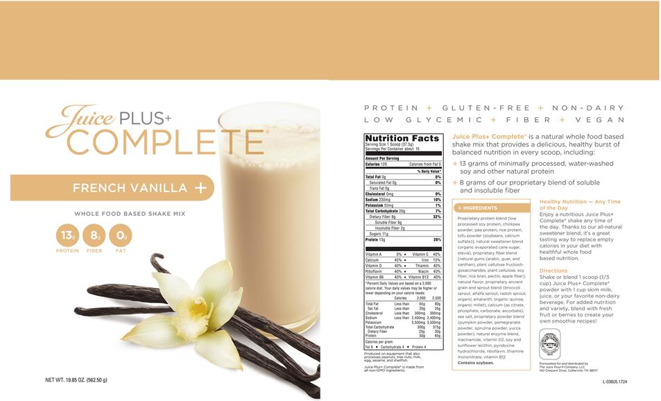 Juice Plus+ Complete Recipes   Team Eagles