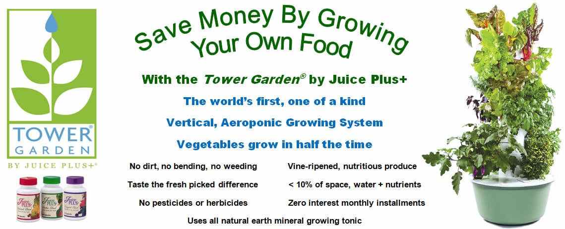 Tower Garden By Juice Plus